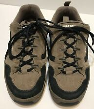 Vans Floyd Model Padded Tongue Men's Size 11 Tan and Blue Mint Condition Lace Up