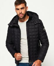 Superdry Mens Hooded Box Quilt Fuji Jacket