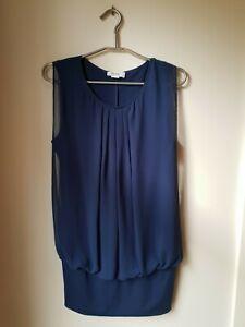 Heine Ladies Blue Top. Size 42/16