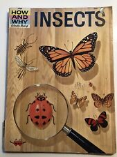 The How And Why Wonder Book Of INSECTS 1960, 15th Printing