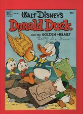 FOUR COLOR 408 DONALD DUCK AND THE GOLDEN HELMET 1952  DELL  BARKS