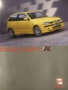 Car Brochure - 2001 Seat Ibiza Cupra R - UK