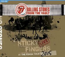 ROLLING STONES 2017 LIVE HOLLYWOOD STICKY FINGERS CONCERT BLU RAY & CD SET