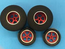 NEW Mid-America Red Drag Star Tires 1 3/16 x 500 w/ Big fronts  Mid-America