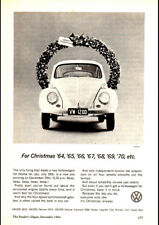 """1963 VOLKSWAGEN VW BEETLE 1200 AD A4 CANVAS PRINT POSTER 11.7""""x8.3"""""""