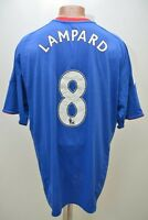 CHELSEA 2010/2011 # 8 LAMPARD HOME  FOOTBALL SHIRT JERSEY ADIDAS SIZE XL ADULT