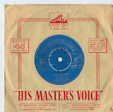 """The Pony Tails - Born Too Late 7"""" Single 1958"""