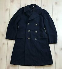 Vintage 1949 Blue Wool Overcoat Us Air Force Size 37R Usaf Military 40's