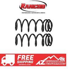 "Rancho 3.5"" Rear Coil Spring Set For 18-20 Jeep Wrangler SPORT SAHARA JLU 4 Door"