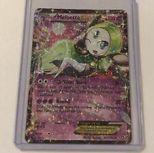 Pokemon Meloetta Ex Legendary Treasures RC11/RC25 Half Art Holo Nr Mint