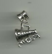 Cheer Mom Charm for Bracelet or Necklace Jewelry Cheerleader