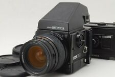 [N MINT] Zenza Bronica GS-1 AE w/PG 65mm F/4 120 220 Film Back from Japan #68411