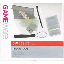 DSi DS Lite Starter Pack Stylus Screen Protectors Wrist Strap Game Case GameWare