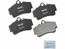 For 1997-2008, 2012 Porsche Boxster Brake Pad Set Rear Bendix 32998ND 1998 1999