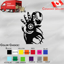 Iron Man Vinyl Decal Sticker The Avengers Car Decal, Window, Windshield, Laptop