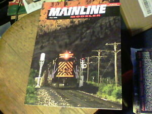 Mainline Modeler June 1998, DCC, UP Self-Propelled Cars, Bulk Containers