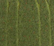 Faller H0 180458 Premium segmento paesaggio campo di grano con Mohnblumen #