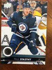 2017-18 UD Hockey SP Authentic Update #504 Paul Stastny