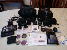Canon EOS Rebel T6 Camera Bundle-Lots of Lenses and Accessories New Details