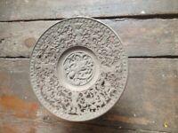 Antiguo Eisenteller Hierro Fundido Cuenco Perímetro Schinkel Muy 19 Jhr Numerado