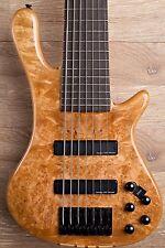 2017 Wolf S8-7 Natural 7 String Neck Through Bass