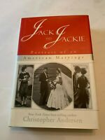 1996 Jack And Jackie by Christopher Anderson 1st Edition Hardcover With DJ