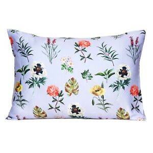 Silk Pillowcase Ultra Soft Printed Satin Luxury Bed Pillow Standard Queen King