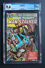 TARGITT #2 Atlas Seaboard 1975 1st MAN-STALKER Nostrand Thorne TV Movie CGC 9.6
