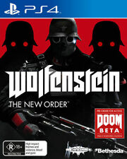 Wolfenstein The Order Sony PlayStation 4 Ps4 Game