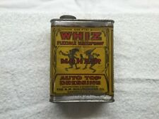 Antique Whiz  Flexible  Mohair Auto Top Dressing Oil Can Hollingshead Rare