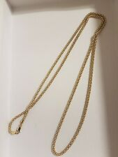MILOR OF ITALY SOLID STERLING SILVER 925 POPCORN NECKLACE LONG LENGTH 35 inch