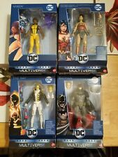 DC MULTIVERSE LEX LUTHOR complete wave wonder woman vixen ray gaslight batman