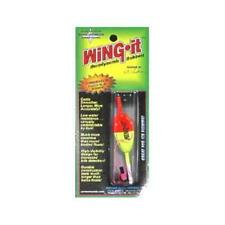 WingIt Chartreuse / Red Combination Fixed / Slip Bobber, 4Pack