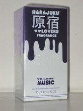 HARAJUKU LOVERS FRAGRANCE *POP ELECTRIC* MUSIC** EDP SPRAY 1oz/30ml SEALED-NEW