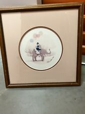 "P Buckley Moss Amish print ""Elephant Ride"""