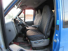 Ford Transit MK6 2000 - 2006 Seat Covers 1 SINGLE 1 DOUBLE ( 2+1 )