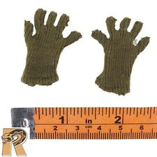 Soviet Female Sniper - Cloth Gloves - 1/6 Scale - Very Cool Action Figures