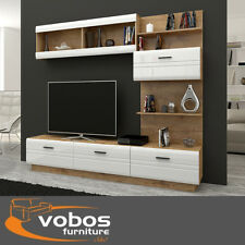 Modern Living Room Furniture Set Tv Unità Stand ARMADIO ARMADIO A MURO DISPLAY NUOVO