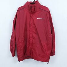 REEBOK Vtg Mens Red TrackSuit Top Full Zip Outdoor Jacket SIZE XX Large, 2XL