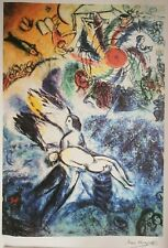 """""""The Creation of Man"""" Marc Chagall Limited Edition Lithograph Signed & Numbered"""