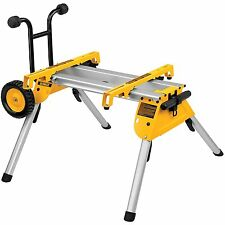 DEWALT Folding Rolling Miter Saw Stand Bench Wheels Heavy Duty Mobile Portable