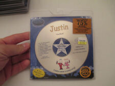 KID HIP - PERSONALIZED CD WITH YOUR CHILDS NAME - 9 SONGS - JUSTIN