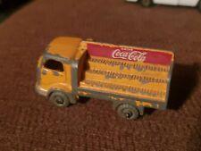 Vintage Matchbox Lesney No. 37 Karrier Bantan 2 Ton Coca Cola   rough condition