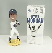 2012 Milwaukee Brewers Nyjer Morgan T. Plush Bobblehead In Box