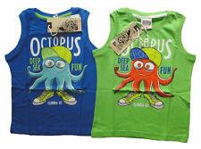 Ärmellose Jungen-T-Shirts, - Polos & -Hemden aus 100% Baumwolle