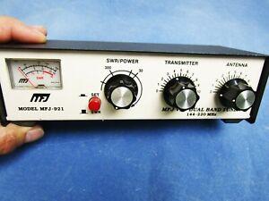 MFJ MFJ-921 144 - 220 Mhz Dual Band VHF 2-Meter Antenna Tuner & SWR Meter