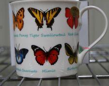 Butterfly Mug BNIB - Buckeye Peacock Pansy Red Glider Birdwing Blue Morpho