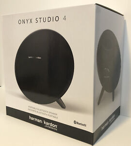 Harman Kardon Onyx Studio 4 Wireless Portable Bluetooth Speaker Black Brand NEW