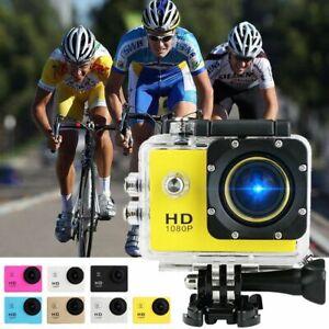 Pro Action Camera HD 4K Camcorder Waterproof DV Sport Video DV Go Underwater KIT