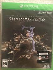 Middle-Earth Shadow Of War XBox One Brand New Sealed Fast Ship w Tracking No Tax